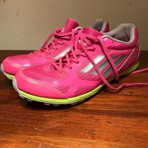 Adidas Women's Running Sneakers Size 9.5 Hot Pink